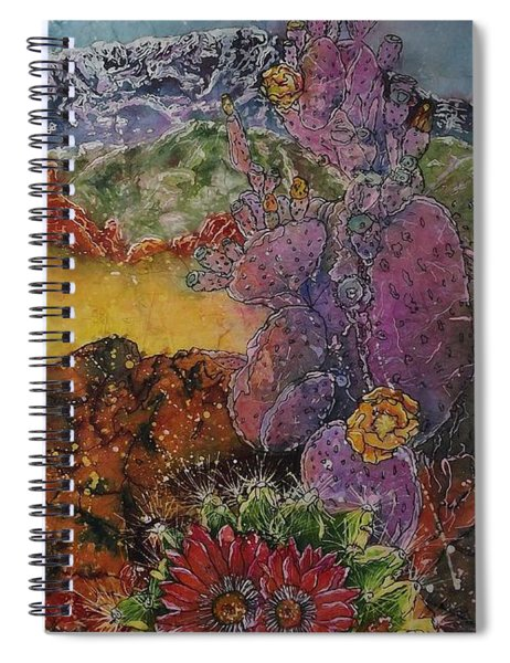 High Desert Spring Spiral Notebook