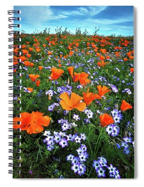 High Desert Wildflowers Spiral Notebook