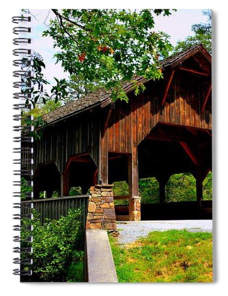 High Falls Covered Bridge Spiral Notebook