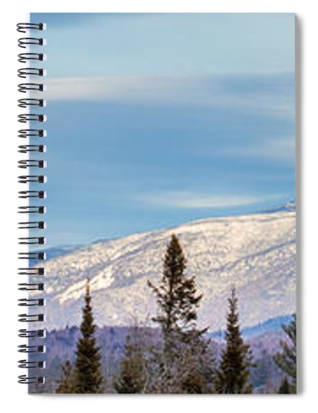 High Peaks Spiral Notebook