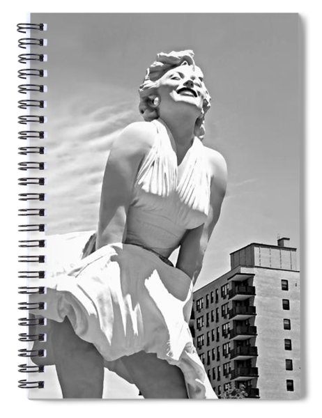 High Rise On Bedford Spiral Notebook