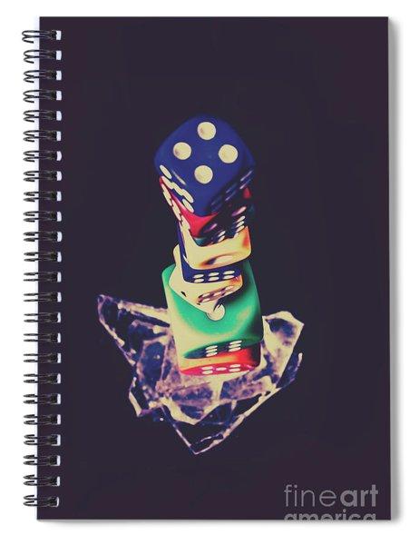 High Roller Luck Spiral Notebook