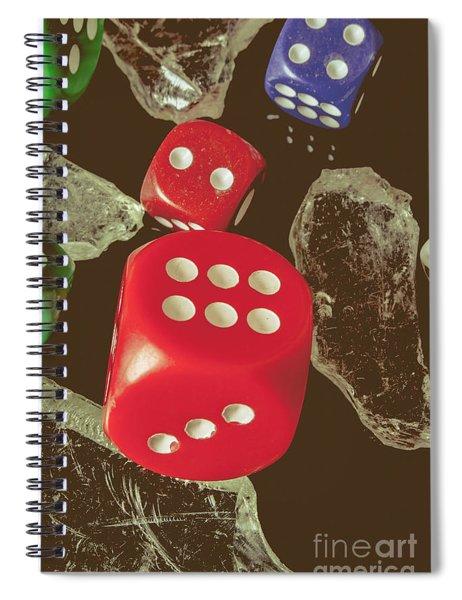 High Rollers Artwork Spiral Notebook