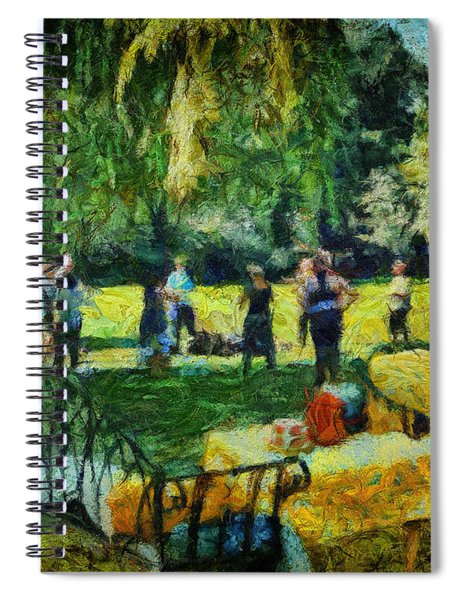 High Tea Tai Chi Spiral Notebook