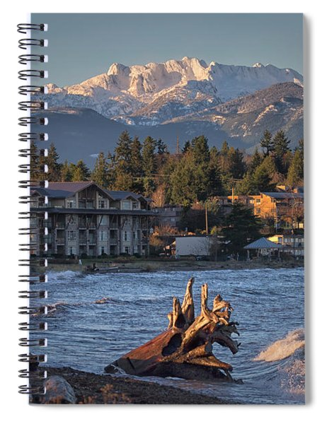 High Tide In The Bay Spiral Notebook