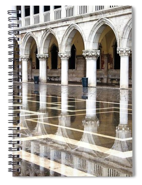 High Water At St. Mark's  Spiral Notebook