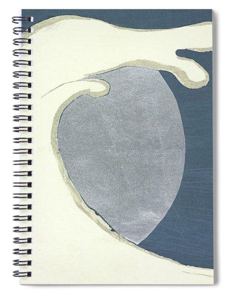 High Waves Spiral Notebook