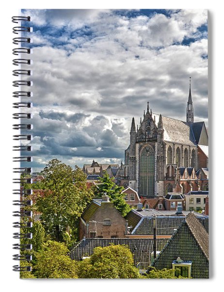 Highland Church Seen From Leiden Castle Spiral Notebook