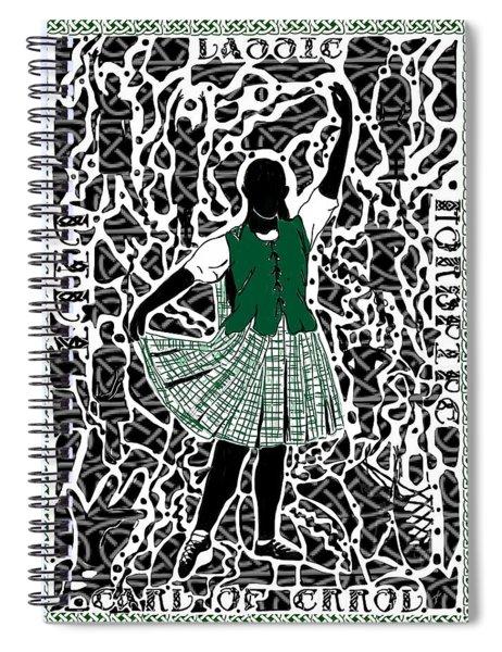 Highland Dancing Spiral Notebook