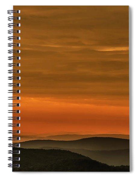 Highland Daybreak Spiral Notebook