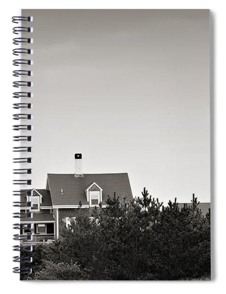 Highland Light At Cape Cod Spiral Notebook