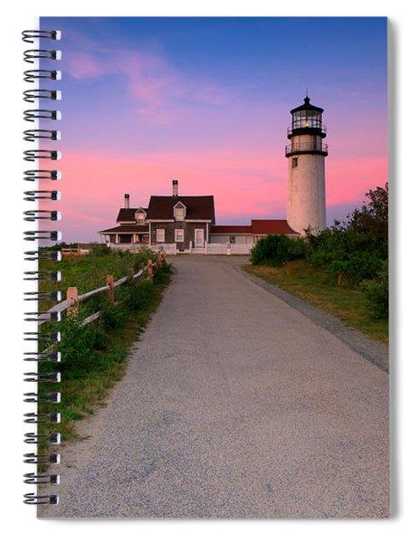 Highland Light Spiral Notebook