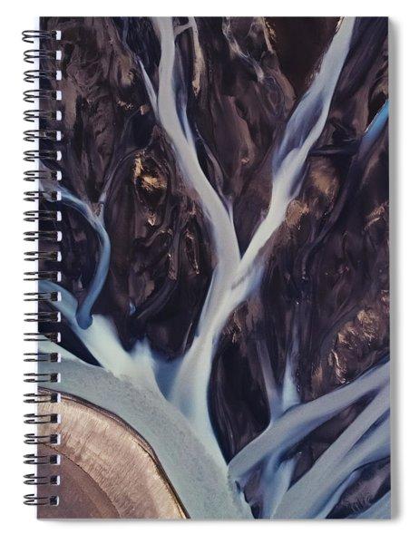 Highland Rivers Spiral Notebook