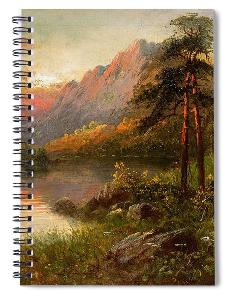 Highland Solitude Spiral Notebook