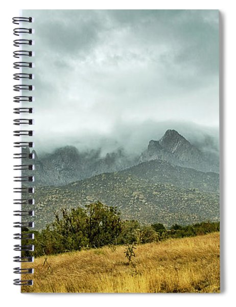 Hike Before The Storm Spiral Notebook