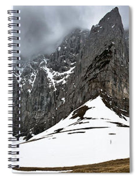 Hiking In The Alps Spiral Notebook