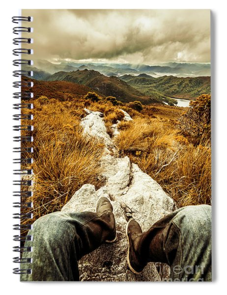 Hiking The Mount Sprent Trail Spiral Notebook