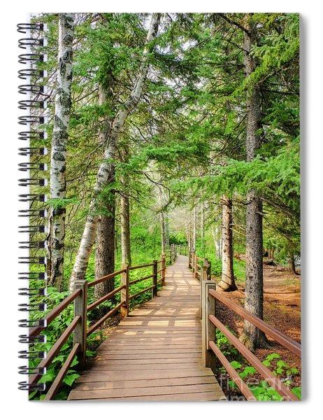 Hiking Trail Spiral Notebook