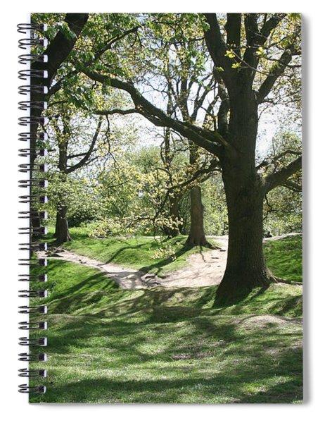 Hill 60 Cratered Landscape Spiral Notebook