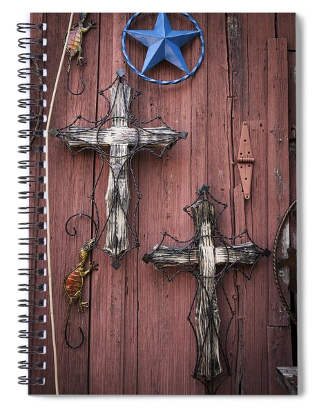 Hill Country Crosses Spiral Notebook