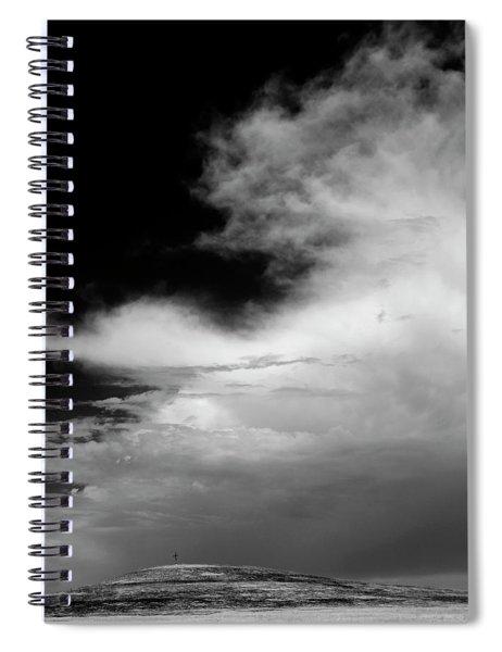 Hill Top Cross Spiral Notebook