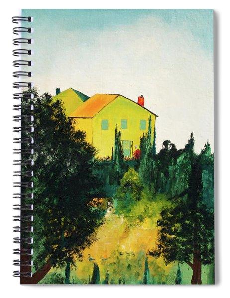 Hillside Romance Spiral Notebook
