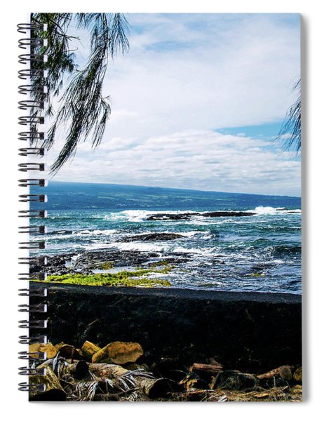 Hilo Bay Dreaming Spiral Notebook