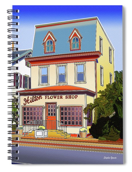 Hilton Flower Shop Spiral Notebook