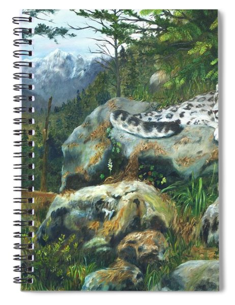 Himalayan Dreaming On Such A Summer's Day Spiral Notebook