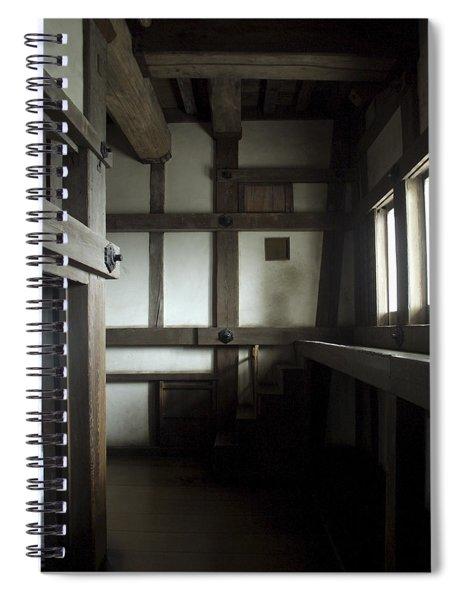 Himeji Medieval Castle Interior - Japan Spiral Notebook
