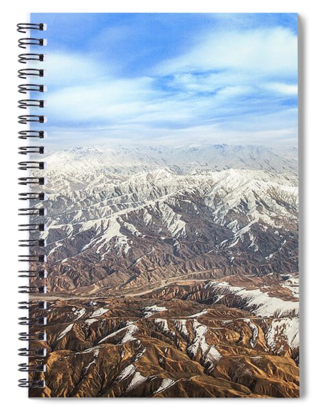 Hindu Kush Snowy Peaks Spiral Notebook