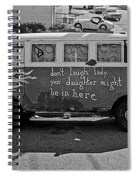 Hippie Van, San Francisco 1970's Spiral Notebook