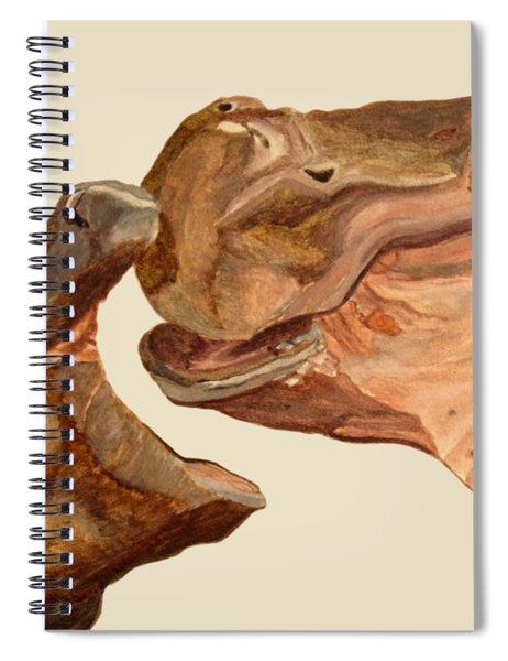 Hippos Spiral Notebook