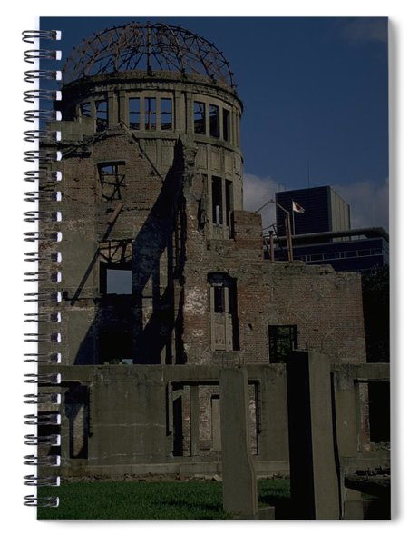 Spiral Notebook featuring the photograph Hiroshima Peace Memorial by Travel Pics