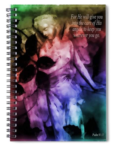 His Angels 2 Spiral Notebook