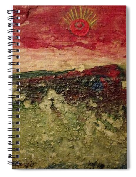 His Crucifiction Spiral Notebook
