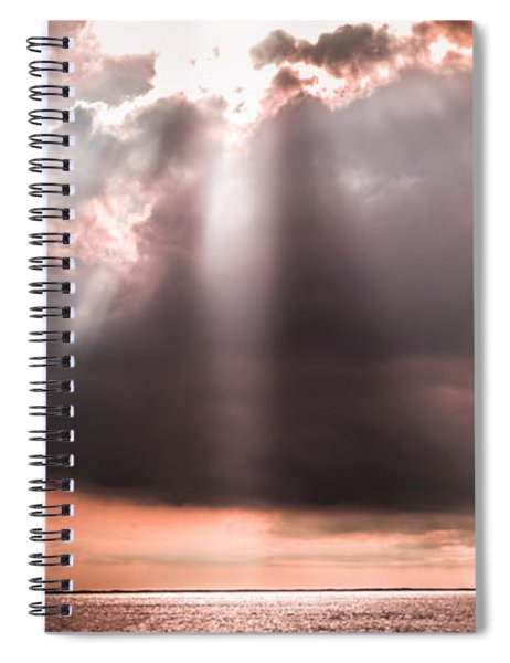His Light Of Reassurance Spiral Notebook