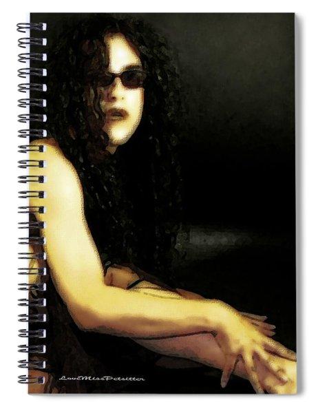 Hispanic Model Art 1 Spiral Notebook