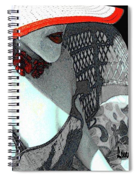 Abstract Woman Art 1 Spiral Notebook