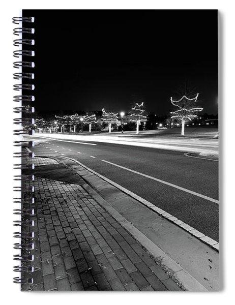 Historic Buford At Christmas Spiral Notebook