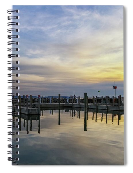 Spiral Notebook featuring the photograph Historic Fishtown 10 by Heather Kenward