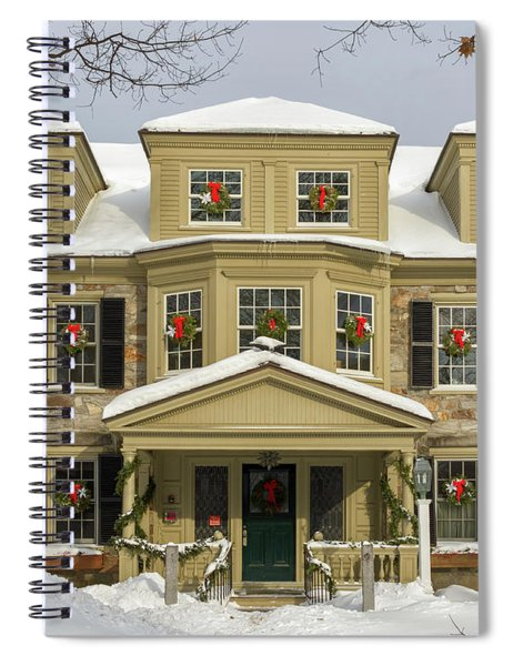 Historic Holidays Spiral Notebook