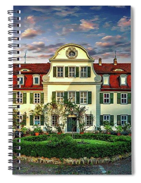 Historic Jestadt Castle Spiral Notebook