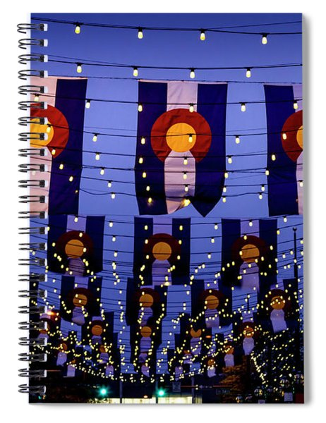 Historic Larimer Square Denver Spiral Notebook
