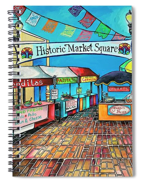 Historic Market Square Spiral Notebook