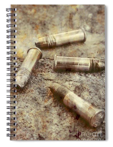 Historic Military Still Spiral Notebook