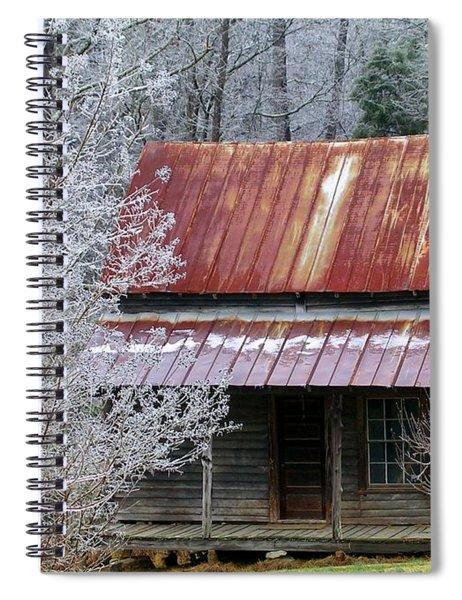 Historic North Carolina Cabin Spiral Notebook