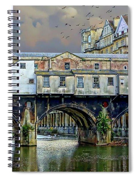 Historic Pulteney Bridge Spiral Notebook