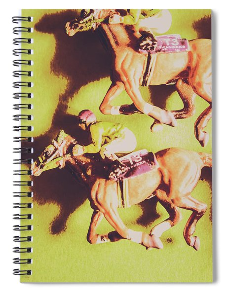 Historic Racing Competition Spiral Notebook