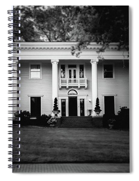 Spiral Notebook featuring the photograph Historic Southern Home by Doug Camara